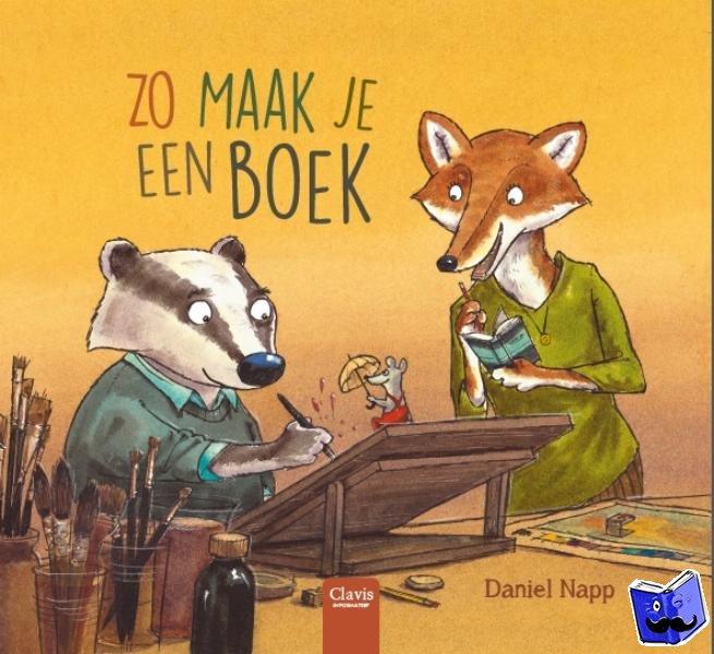 Napp, Daniel - Zo maak je een boek