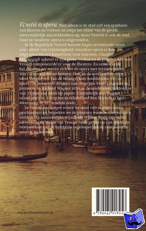 Bruls, Willem - Venetiaanse zangen