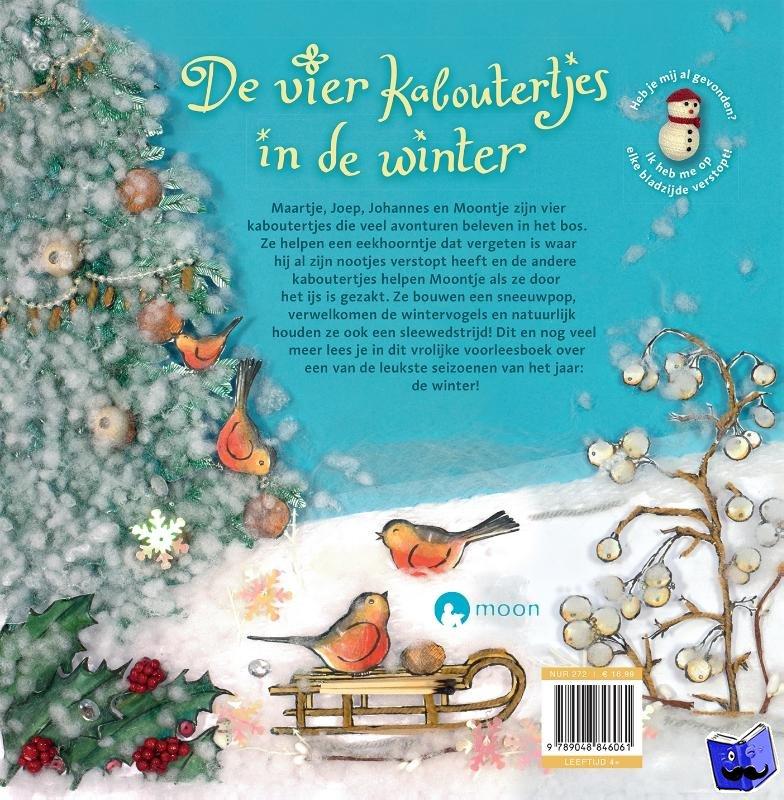 Busser, Marianne, Schröder, Ron - De vier kaboutertjes in de winter