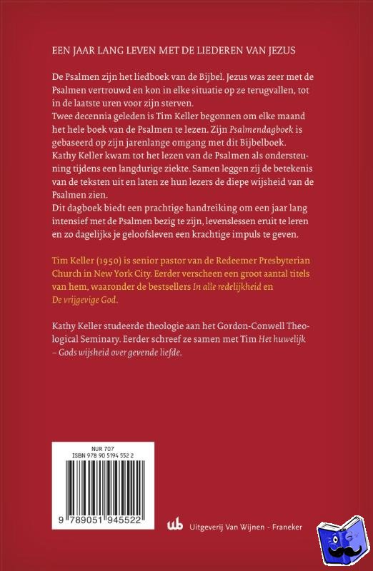 Keller, Tim, Keller, Kathy - PSALMENDAGBOEK