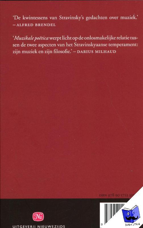 Stravinsky, Igor - Muzikale poëtica