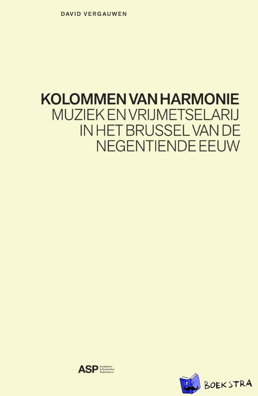 Vergauwen, David - Kolommen van harmonie
