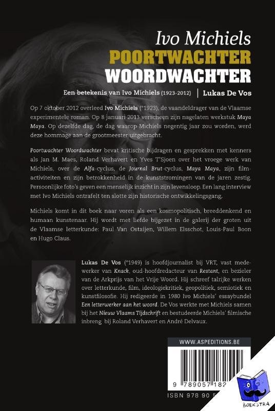 Vos, Lukas de - Poortwachter woordwachter