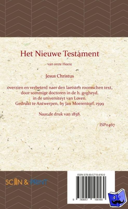 - Leuvense Bijbel Nieuwe Testament