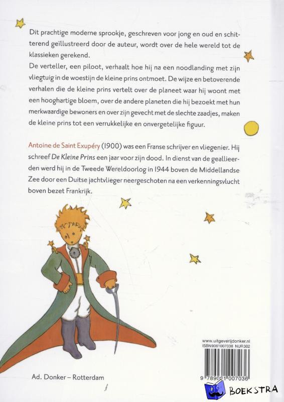 Saint-Exupéry, Antoine De - De kleine prins