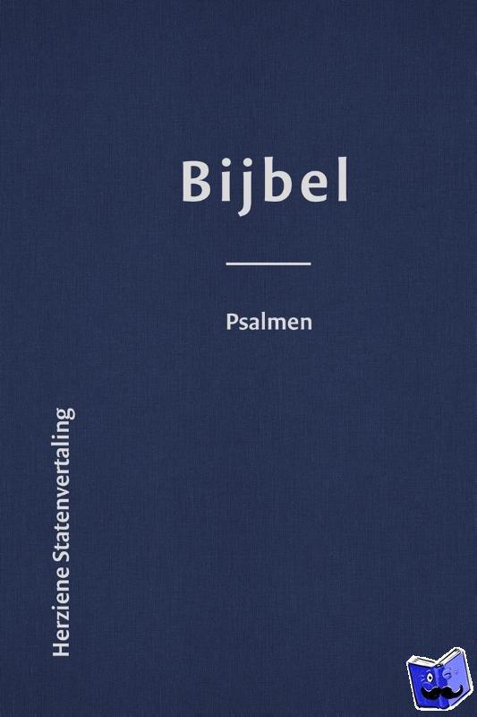 - Bijbel met Psalmen luxe leer (HSV) + koker - 8,5 x 12,5 cm