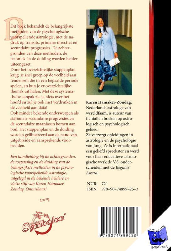 Hamaker-Zondag, Karen M. - Handleiding voorspellende astrologie