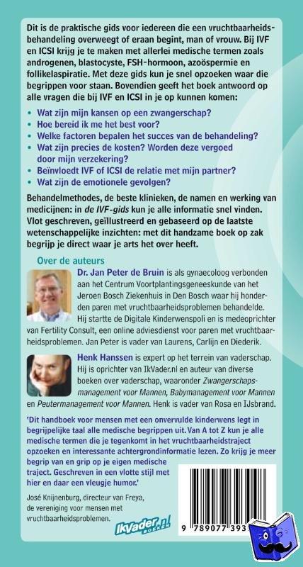 Bruin, Jan Peter de, Hanssen, Henk - De IVF-gids