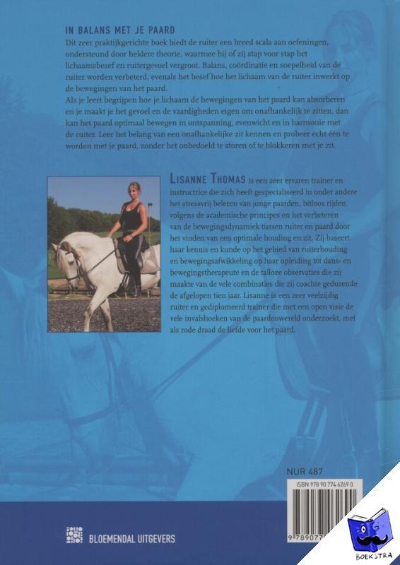 Thomas, Lisanne - In balans met je paard