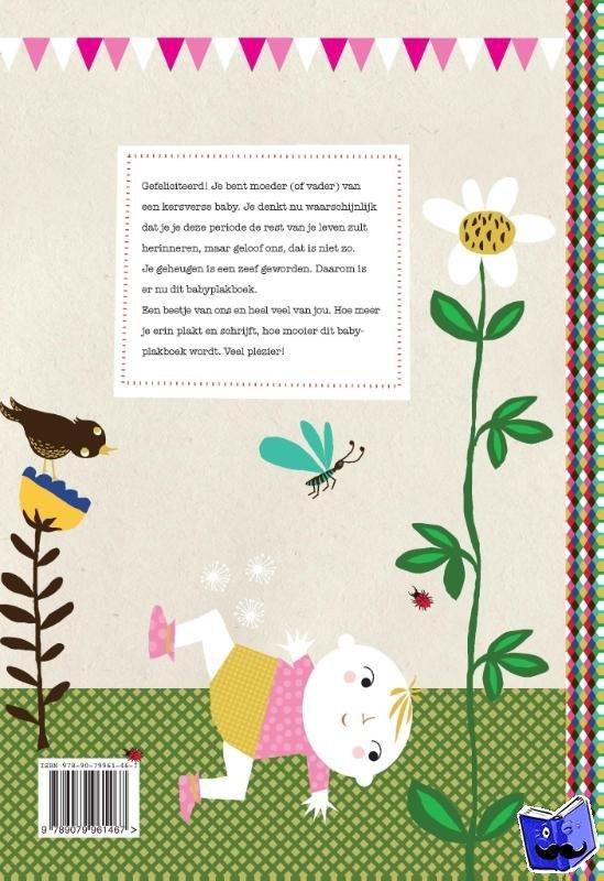 Janssen, Gerard - Babyplakboek  .... eerste jaar