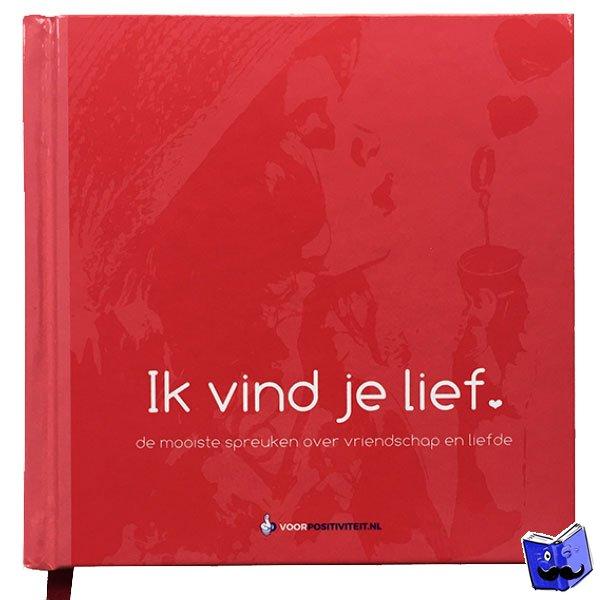 boekje met spreuken Boekwinkeltjes.nl   Ik vind je lief boekje   de mooiste spreuken  boekje met spreuken