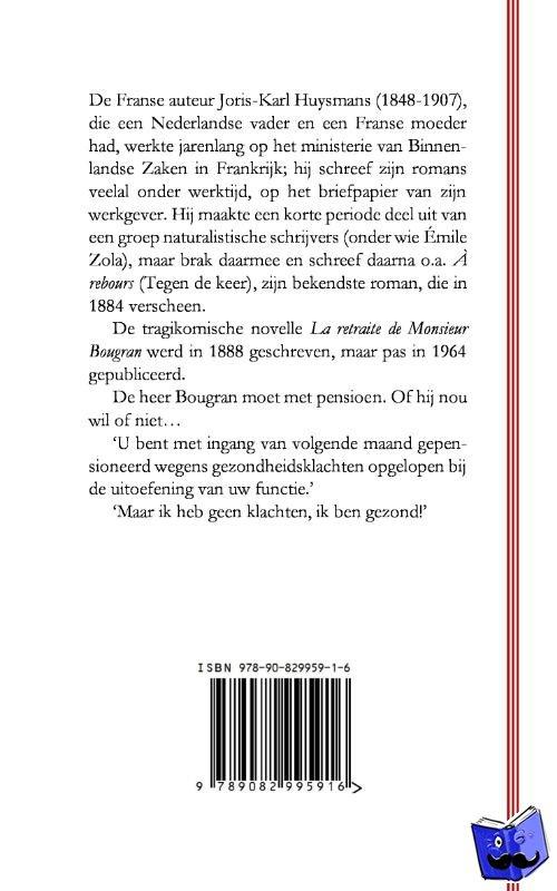 Huysmans, Joris-Karl - De pensionering van meneer Bougran - POD editie