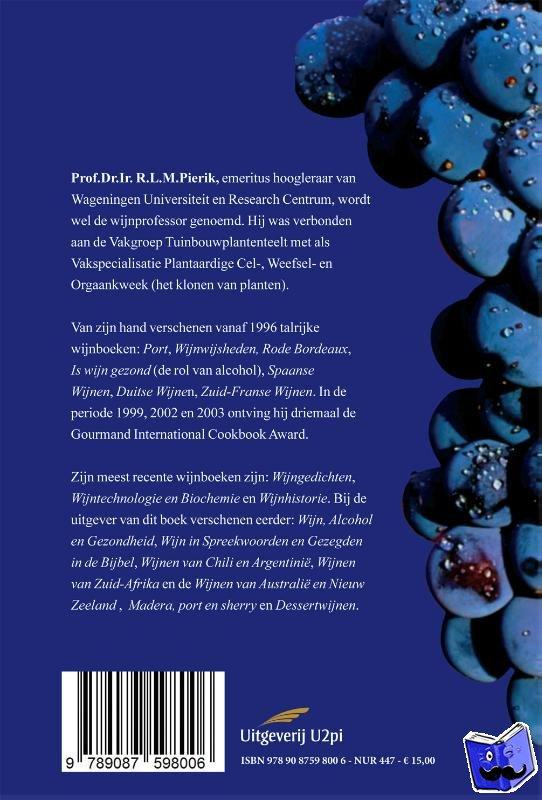 Pierik, Rudolf - Duitse en Oostenrijkse wijnen - POD editie