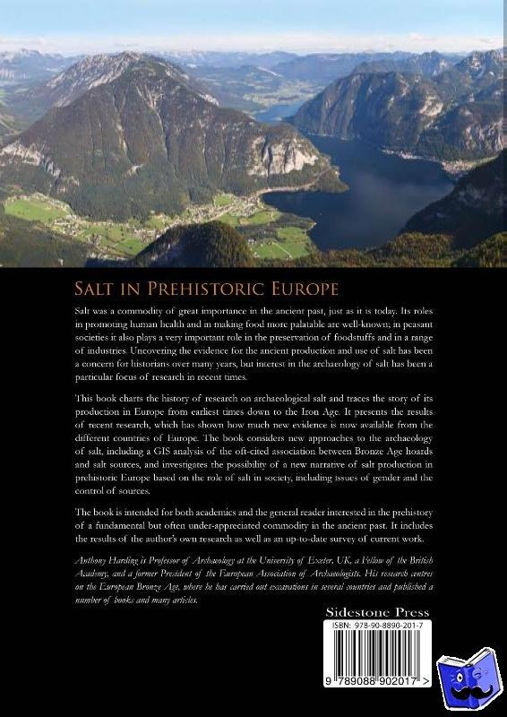 Harding, Anthony - Salt in prehistoric Europe