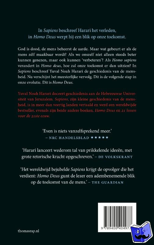 Harari, Yuval Noah - Homo Deus