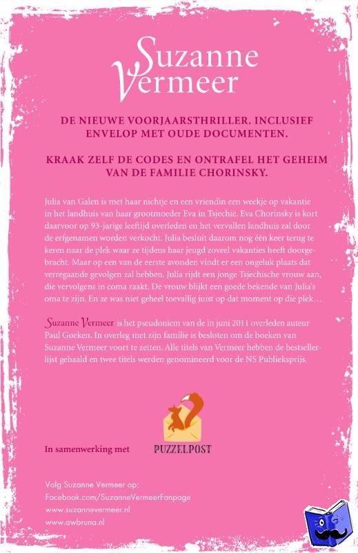 Vermeer, Suzanne - Lentevuur