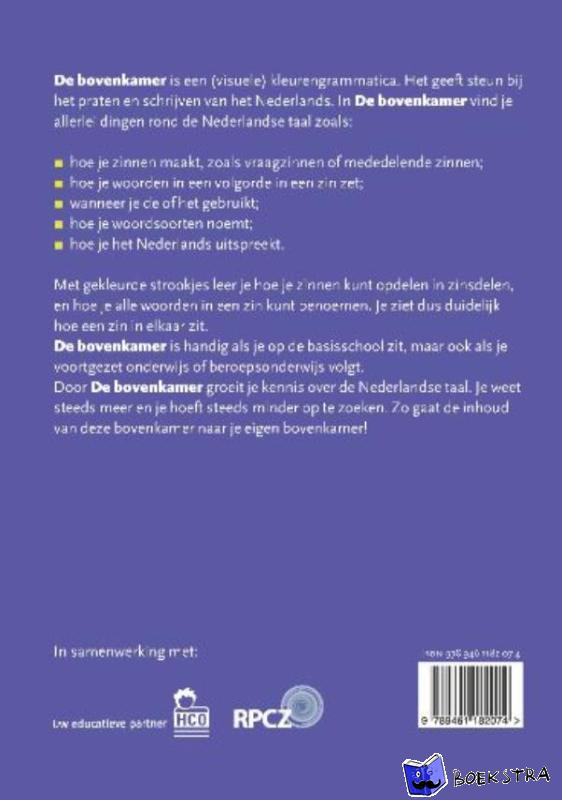 Coenen, Josée - De bovenkamer - Opzoekboek
