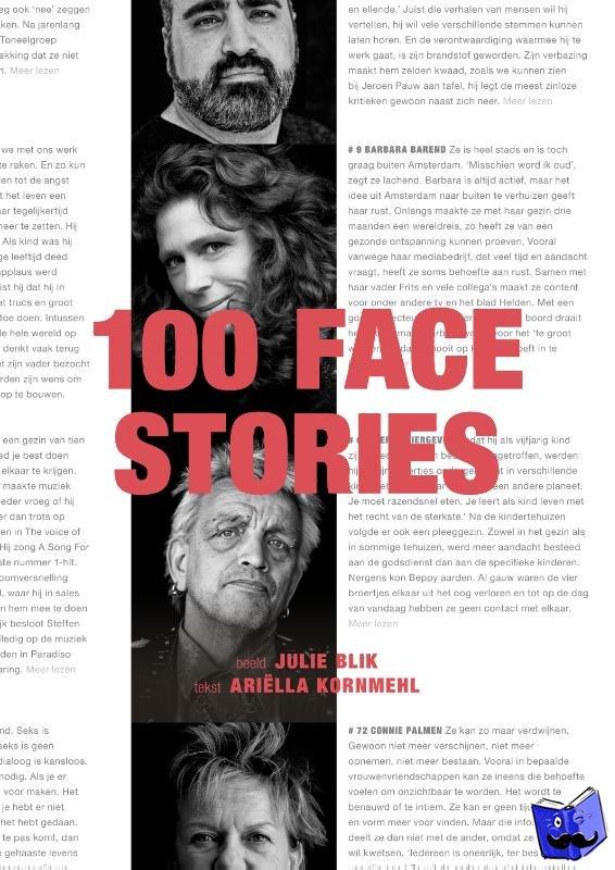Kornmehl, Ariëlla, Blik, Julie - 100 Facestories