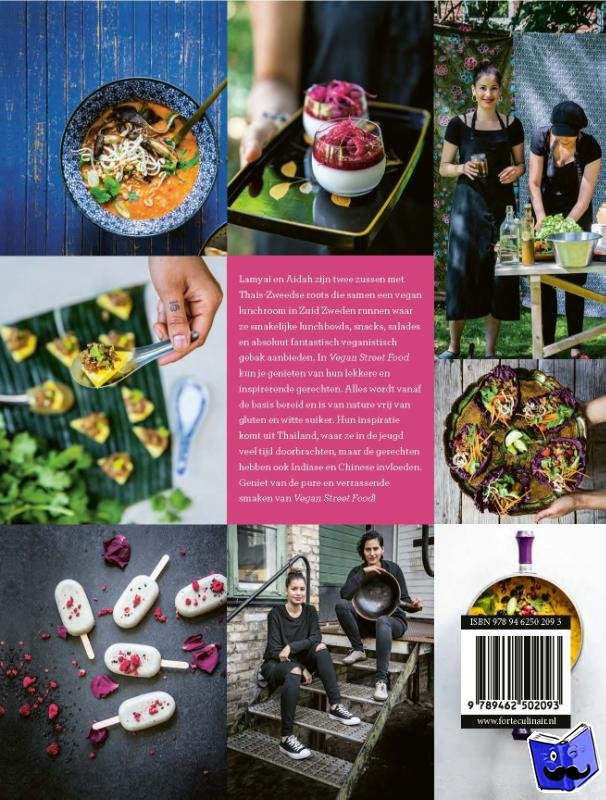 Vozzi, Lamyai, Samphani, Aidah - Vegan street food