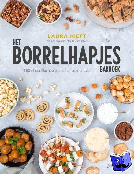 Kieft, Laura - Het Borrelhapjes Bakboek