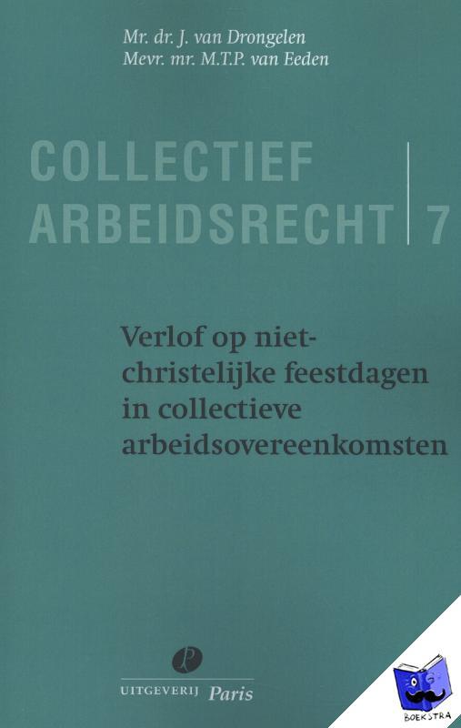Drongelen, J. van, Eeden, M.T.P. van - deel 7