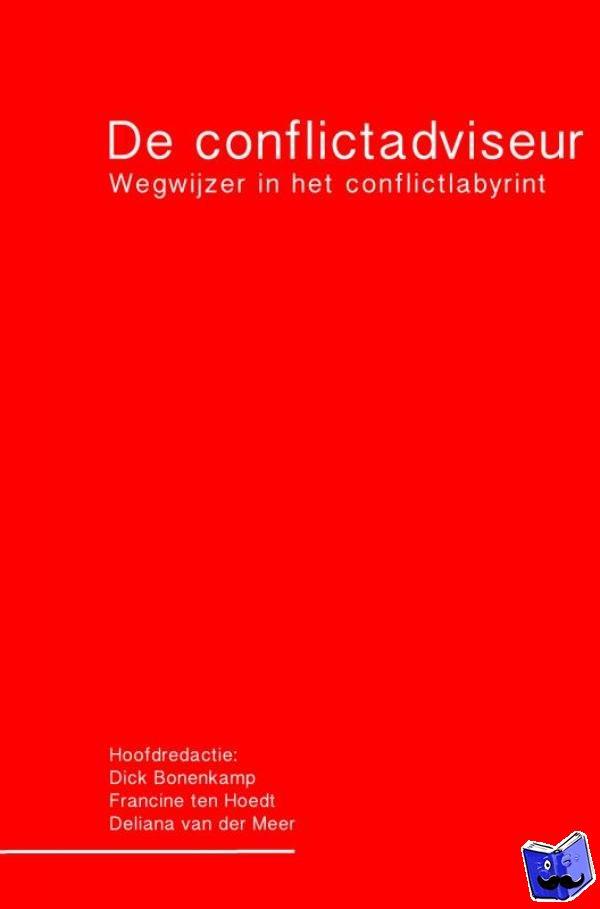 Bonenkamp, Dick - De conflictadviseur - POD editie