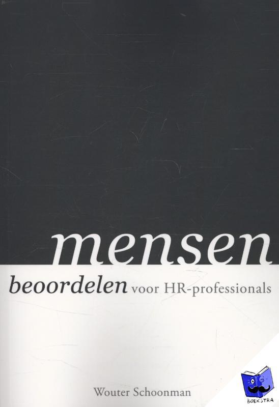 Schoonman, Wouter - Mensen beoordelen voor HR-professionals