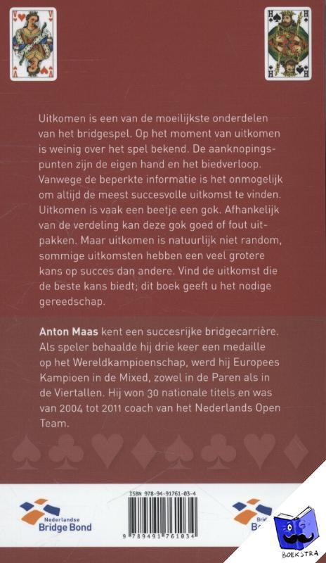Maas, Anton - Uitkomen