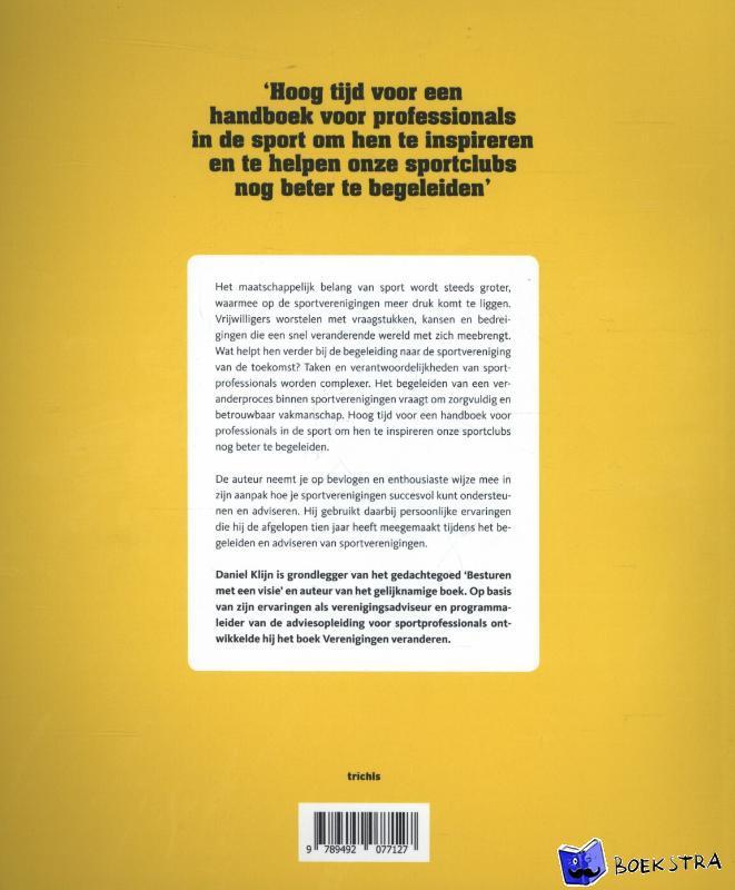 Klijn, Daniel, Veenhoven, Ernst, Burg, René van den - Verenigingen veranderen