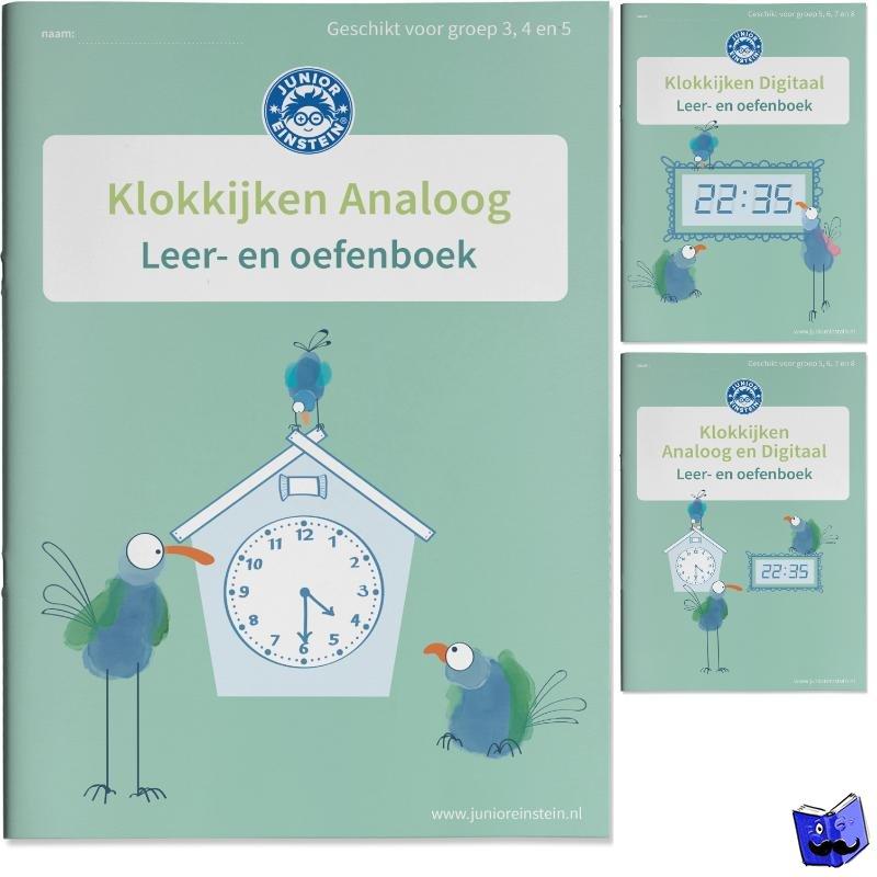 - Klokkijken Oefenboeken Analoog en Digitaal