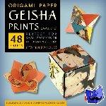 "Tuttle Publishing - Origami Paper - Geisha Prints - Small 6 3/4"" - 48 Sheets"