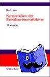 - Kompendium der Betriebswirtschaftslehre