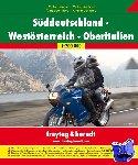 - Zuid-Duitsland, West-Oostenrijk, Noord-Italië Motoratlas F&B