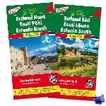 - F&B Estland West en Oost 2-kaartenset