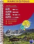 - Alpen - Noord Italië Wegenatlas Marco Polo