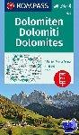 - Dolomiten - Dolomites - Dolomiti 1 : 35 000