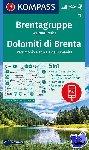 - Brentagruppe, Weltnaturerbe, Dolomiti di Brenta 1:50 000
