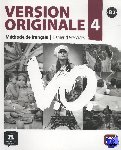 - Version Originale 4 - Cahier d´exercices + CD