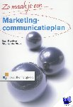 Dondorp, Daan, Sluijs, Niko van der - Zo maak je een marketingcommunicatieplan