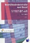 Broerse, W.J. - Bedrijfsadministratie met Excel