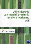 Kuppen, P.A.A.M., Luit, F. van - Administratie van handel, productie en dienstverlening