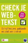 Tiggeler, Eric - Check je webtekst - POD editie