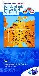 ANWB - ANWB wegenkaart Duitsland 2. Duitsland zuid/Zwitserland/Oostenrijk