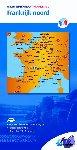ANWB - ANWB wegenkaart Frankrijk 2 Frankrijk noord