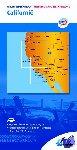 ANWB - ANWB wegenkaart Verenigde staten/Canada 3. Californië