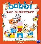 Maas, Monica - Bobbi kleur- en stickerboek