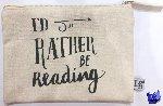 - Etui I'd rather be reading (size medium) set 8 stuks