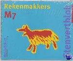 Borgh, M. van der - Stenfertblok rekenmakkers groep 7 (5 ex) M7 Leerlingenboek