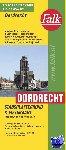 - Falk stadsplattegrond & fietskaart Dordrecht 2018-2019, 21e druk met fietsknooppunten