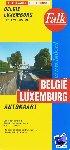 - Falk autokaart België-Luxemburg professional   30e druk recente uitgave, schaal 1:250.000